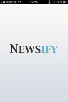 Newsify - Cover_iOS帕特恩