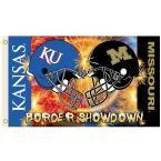 Ncaa 3 ft. x 5 ft. Kansas/Missouri Rivalry House Divided Flag