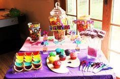 ~Rainbow sweet treats bar