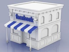 Facebook Store Icon by level2d