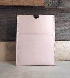 Leather iPad Sleeve by Aegis Handcraft on Scoutmob Shoppe