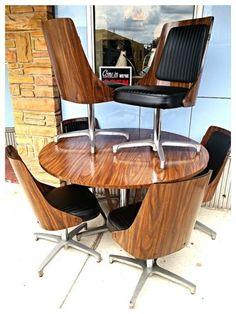 chromcraft dining room furniture. Mid century modern Chromcraft bentwood back walnut laminate 6 chair dining  set chromcraft floating Google Search Pinterest