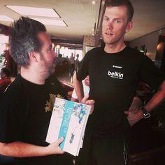 Warriors of the Wheel, tijdens de Tour de France presenteerde Gaby Gaby zijn artbook aan diverse top renners. Dit was een complete on spot actie. Ik verzorgende video en foto content. Dit binnen een zeer strakke planning in 2 dagen. Content is zowel in Broadcast, print en online gebruikt. Tijdens de 2 dagen verzorgde ik ook de social media broadcasting on the flow.