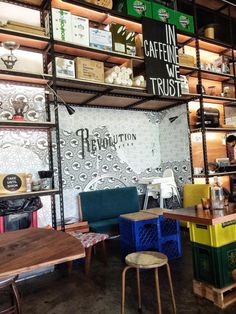 Coffees Places and Bakeries in Singapore: Revolution Coffee