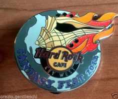 Key-West-Fantasy-fest-2012-Ltd-Ed-Hard-Rock-Cafe-Lapel-PIN-Spilla-HRC