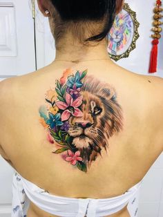 40 Cool And Amazing Back Tattoo Designs You Want To Show Off In Summer - Page 2 of And Amazing Back Tattoo Designs You Want To Show Off In Summer; Back Tattoos; Tattoos On The Back; Back tattoos of a woman; Band Tattoos, Leo Tattoos, Ribbon Tattoos, Body Art Tattoos, Sleeve Tattoos, Cross Tattoos, Flower Tattoos, Tatoos, Lion Tattoo With Flowers