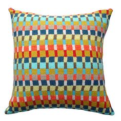 Locomotive Knitted Lambswool Cushion