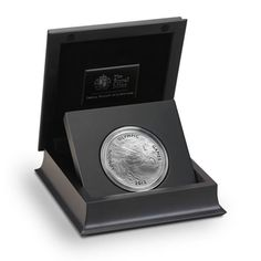 The UK's first ever 5oz silver coin in presentation packaging.