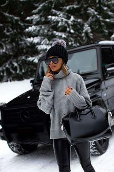 Winter Style // Grey + Black.