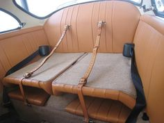 1964 Porsche 356 C Coupe  luggage straps ,need some ! but don't care for the retractable seat belts