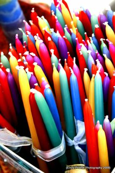 coloured #candles