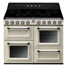 smeg tr4110i victoria range cooker with induction hob range cookerstove