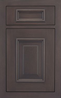 Riverside Raised door style by #WoodMode, shown in Matte Twilight finish on maple.