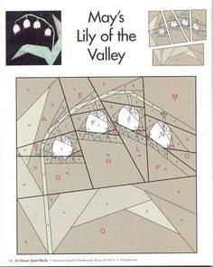 Lily of the Valley - there are 24 pp patterns