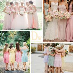 Свадьба в пастельных тонах | DiscoverWedding.ru