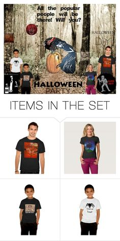 """""""Halloween Party in the Woods"""" by sandyspider ❤ liked on Polyvore featuring art, Halloween, invitations, Halloweenparty and diycostume"""