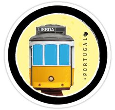 "Cool sticker sold ""Symbols of Portugal - Lisboa Lisbon Tram 2"", thanks! #Lisbon #Lisboa #Tram #Portugal"