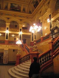 Inside the opera. Lviv, Ukraine this is my city. I invite all to come and see...