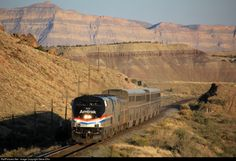 RailPictures.Net Photo: AMTK 822 Amtrak GE P32BWH (Dash 8-32BWH) at Verde , Utah by Steve Ellis