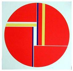 Color Geometric Art - Ilya Bolotowsky