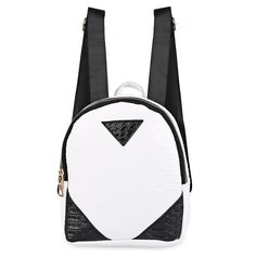 f449988eaedb Patchwork Pu Leather Women Backpack Leather Backpack