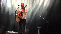 """The Avett Brothers - Seth Avett sings  """"In the Curve"""" Live 10/24/15 Char..."""