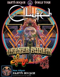 Clutch unleash bludgeoning walls of rock and roll on the Earth Rocker Tour with Orange Goblin and Lionize! #blues #rock #doom #metal