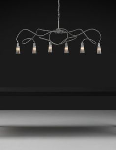 Our fully customised Sultans of Swing can be shaped and formed to your needs. You can select from four different single light objects, each with its own characteristic shaped curl. Lamp Light, Light Up, Sultans Of Swing, Decorative Lights, Studio Lighting, Shape And Form, Hanging Lights, Light Decorations, Light Fixtures
