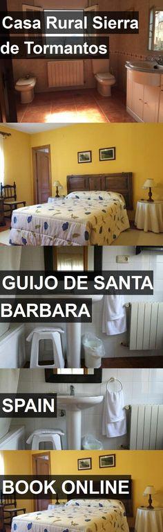 Hotel Casa Rural Sierra de Tormantos in Guijo de Santa Barbara, Spain. For more information, photos, reviews and best prices please follow the link. #Spain #GuijodeSantaBarbara #CasaRuralSierradeTormantos #hotel #travel #vacation