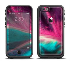 Add style to your Apple iPhone 6/6s Plus LifeProof Fre Case! With Design Skinz, you can change the look of your favorite case in seconds, literally. Made from a premium vinyl, these skinz can take a b