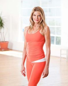 Kathy Smith, fitness guru, at age 61...motivation for me....
