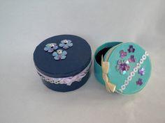 Weiteres - 2 kleine Milchzahndosen im Set, KCA Nr. 38 - ein Designerstück von Pfiffiges bei DaWanda
