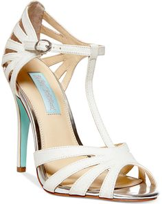 Blue by Betsey Johnson Tee Evening Sandals