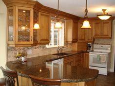 Archaicfair Kitchen Peninsula Ideas : Handling A Small Kitchen Design  Essential Guidelines Part Kitchen Peninsula Design Ideas Plans Kitchen