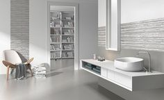 This article features tiles from Cevisama: the Rondine, the Litikol, and the Unicom Starker ( shown in the photo above).
