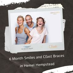 Searching for how to get straight teeth? At Alexandra Dental, our dentist offer 6 Month Smiles and Cfast braces in Hemel Hempstead to straighten your teeth with an extremely efficient and high level of expertise. Space Between Teeth, Teeth Alignment, Hemel Hempstead, Increase Confidence, Dental Veneers, Six Month, Best Oral, Orthodontics