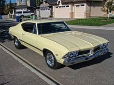 '68 Pontiac Beaumont The Canadian Muscle Car. It Was Basically A Chevelle With Pontiac Power.