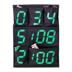 GISSA Almacenaje de pared con bolsillos  - IKEA, 7,99€. Altura: 85 cm, Ancho: 60 cm