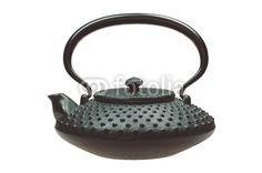 Teekanne aus Gußeisen, Eisen, iron teapot, Fotolia