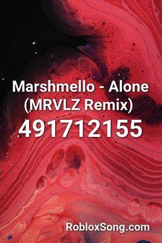 Marshmello Alone Mrvlz Remix Roblox Id Roblox Music Codes In