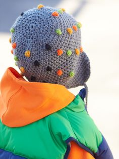 Yarnspirations.com - Patons Smarty Pants Hat - Patterns  | Yarnspirations