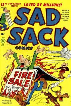 Sad Sack Cartoon | Sad Sack Comics