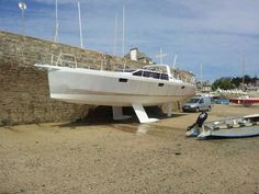 Ocean cruising sailboat / aluminum / open transom - IROISE 46 - BORD A BORD - Videos