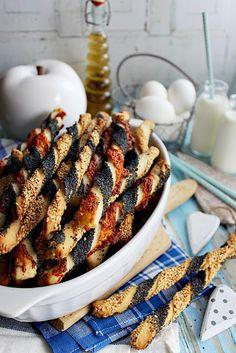 Illéskrisz Konyhája: ~ ROPOGÓS-BOROS BOTOK ~ Izu, Okra, Healthy Drinks, Sausage, French Toast, Food And Drink, Meat, Baking, Breakfast
