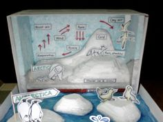 Tundra Diorama Ideas | Shoebox Diorama of a Tundra http://michellehumanities.blogspot.com ...