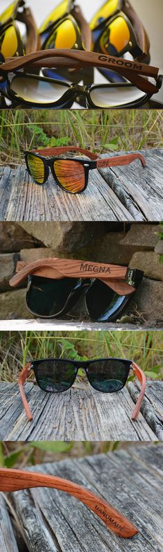 d32ed1d8dd Personalized Wooden Sunglasses. Rose Wood. Polarized Wooden Sunglasses. Mens  Sunglasses. Womens Sunglasses