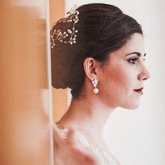 Bridal Earrings Pearl Wedding Jewelry White Ivory Cream