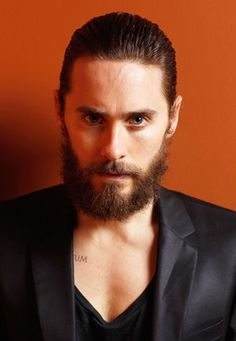 Everyone looks better in a beard in my book! Furry Jared Leto.