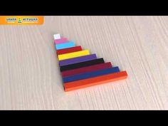 Цветные счетные палочки Кюизенера - YouTube