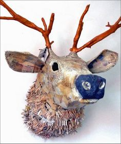 My kind of taxidermy . . . | Content in a Cottage